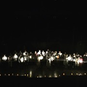 Near West Theatre Performed 'Spring Awakening' By Candlelight on Saturday During Power Outage