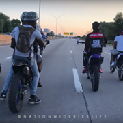 Here's Footage of the Massive Group of Dirt Bike and ATV Riders in Cleveland on Sunday