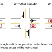 Recommendations From Franklin Blvd. Traffic Calming Experiment Will Be Presented Next Week