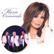 An Evening with Marie and the Osmonds Coming to Hard Rock Live in March