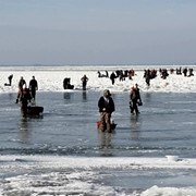 Coast Guard Rescues Nearly 50 Ice Fishermen from Lake Erie Ice Floe