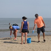 Here's the Schedule for This Year's Adopt-a-Beach Shoreline Cleanup Program