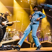 Leon Bridges Went Above and Beyond Last Night at Jacobs Pavilion at Nautica Opener