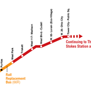 RTA Shuttle Buses to Replace Red Line Rapid from Cudell to Hopkins 'Until Further Notice'