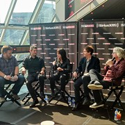 Members of the Baseball Project Talk About Their Love of the Game During a Press Conference at the Rock Hall