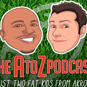 Browns, Blowups and Books — The A to Z Podcast With Andre Knott and Zac Jackson