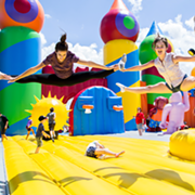 World's Largest Bounce House Popping Up in Cleveland Area This August