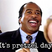 Eat Free Pretzels With Stanley From 'The Office' at Beachwood Place Sept. 28