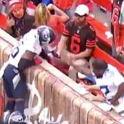Browns Claim Man Who Wasn't at Game Poured Beer on Titans Player, Ban Him From Stadium
