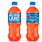 Orange 'Believeland' Pepsi Debuts in Cleveland For Browns Sunday Night Football Return