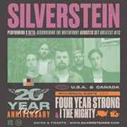 Silverstein's 20th Anniversary Tour Coming to House of Blues in April