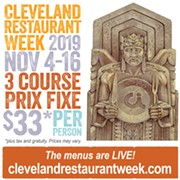 The Annual Cleveland Restaurant Week to Return Nov. 4-16