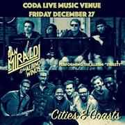 Cities & Coasts and Dan Miraldi and the Albino Winos to Reunite to Play CODA on Dec. 27