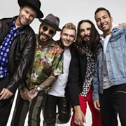 Backstreet Boys to Play Blossom in July