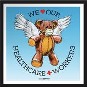 Cleveland Artist Derek HessCreates 'Medi-Teddy' to Help With PPE Shortage