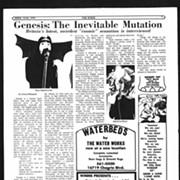 Rewind: 47 Years Ago This Week, Scene Interviewed Peter Gabriel