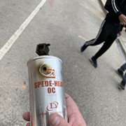 Cleveland Police Used These Launchable Chemical Grenades at Saturday Protest