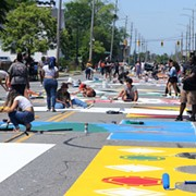 Black Lives Matter Street Mural Just the First Part of 'Elevate the East' Public Art Initiative in Cleveland
