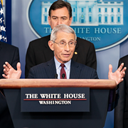 Dr. Fauci Says Hydroxychloroquine Study Touted by Trump is 'Flawed'