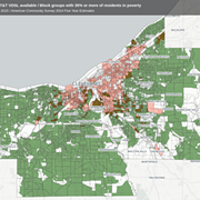 In Historically Redlined Neighborhoods, Internet Access for CMSD Families Still Spotty