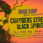 The Grog Shop Celebrates Its 28th Anniversary Friday With In-Person and Streaming Concert Featuring the Chargers Street Gang