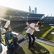 Hit Golf Balls In Progressive Field Next Fall With Topgolf