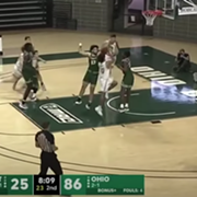 Cleveland State Gave Up an NCAA Record-Setting 40-0 Run to Ohio University Yesterday