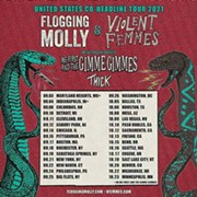 Flogging Molly and Violent Femmes To Perform at Jacobs Pavilion at Nautica in September
