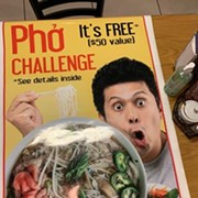 Can You Conquer Pho Lee's New Giant Pho Eating Challenge?