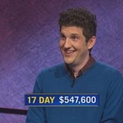 Medina Native Matt Amodio Notches 17th Straight Jeopardy! Victory, Now Third on All-Time Winnings List