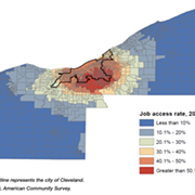 Titillating Tidbits: The Disconnect Between Job Access Rates and Employment in Cleveland Disproportionately Affecting Black People