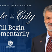 Mayor Frank Jackson Passes Baton in Final State of the City Address