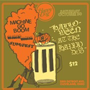 Machine Go Boom Reunite to Debut Unreleased Material, Play Halloween Show at the Happy Dog