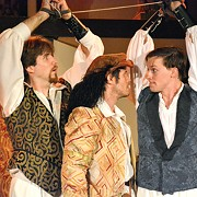 Romance is Comical and All-Consuming in Much Ado About Nothing at the Al Fresco Ohio Shakespeare Festival