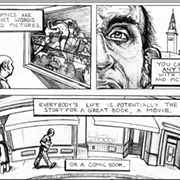 The Coventry Outdoor Courtyard To Be Christened Harvey Pekar Park