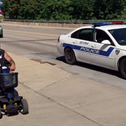 Elyria Man Arrested After Low-Speed Motorized Scooter Chase