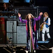 Aerosmith Delivers High-Energy Set at Tom Benson Hall of Fame Stadium in Canton