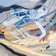 Dana Oldfather Brings Artistic Juxtapositions to Bonfoey Gallery
