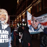 Small, Persistent Band of Tamir Rice Protesters Marched All Week Long