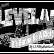 Local Bluesman Colin Dussault Selling Controversial 'Riot' Shirts in Advance of RNC