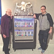 Repurposed Cigarette Machine to Dispense Cleveland Artifacts This Weekend