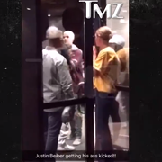 TMZ Video: Justin Bieber Got in a Fight After the Cavs Game in Cleveland