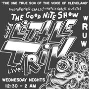 "WRUW's ""The Good Nite Show w/ Little Triv"" Pays Satirical Tribute to Cleveland's Mike Trivisonno"