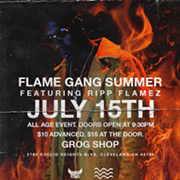 Up-And-Coming Cleveland Rapper Ripp Flamez to Headline First Local Show