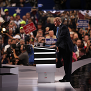 The 2016 RNC, or the Week Conspiracy Theorist Alex Jones Went Mainstream on the Floor of the Convention Hall