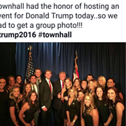 After Hosting Private Fundraiser for Donald Trump, TownHall in Ohio City Faces a Backlash Online