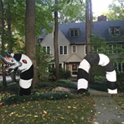 This Giant Sandworm is One of Our Favorite Halloween Decorations This Year