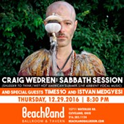 Shudder to Think's Craig Wedren to Present His 'Sabbath Session' at the Beachland