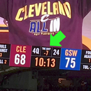 "Video: Steve Kerr Made a Joke About ""The Diff"" at Quicken Loans Arena"