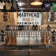 First Look: Masthead Brewing, Opening Tuesday